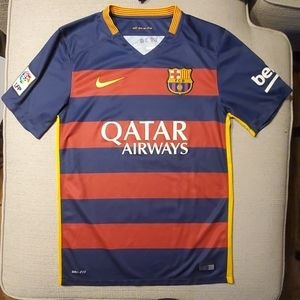 Authentic Nike Barcelona Home Jersey 2015-16